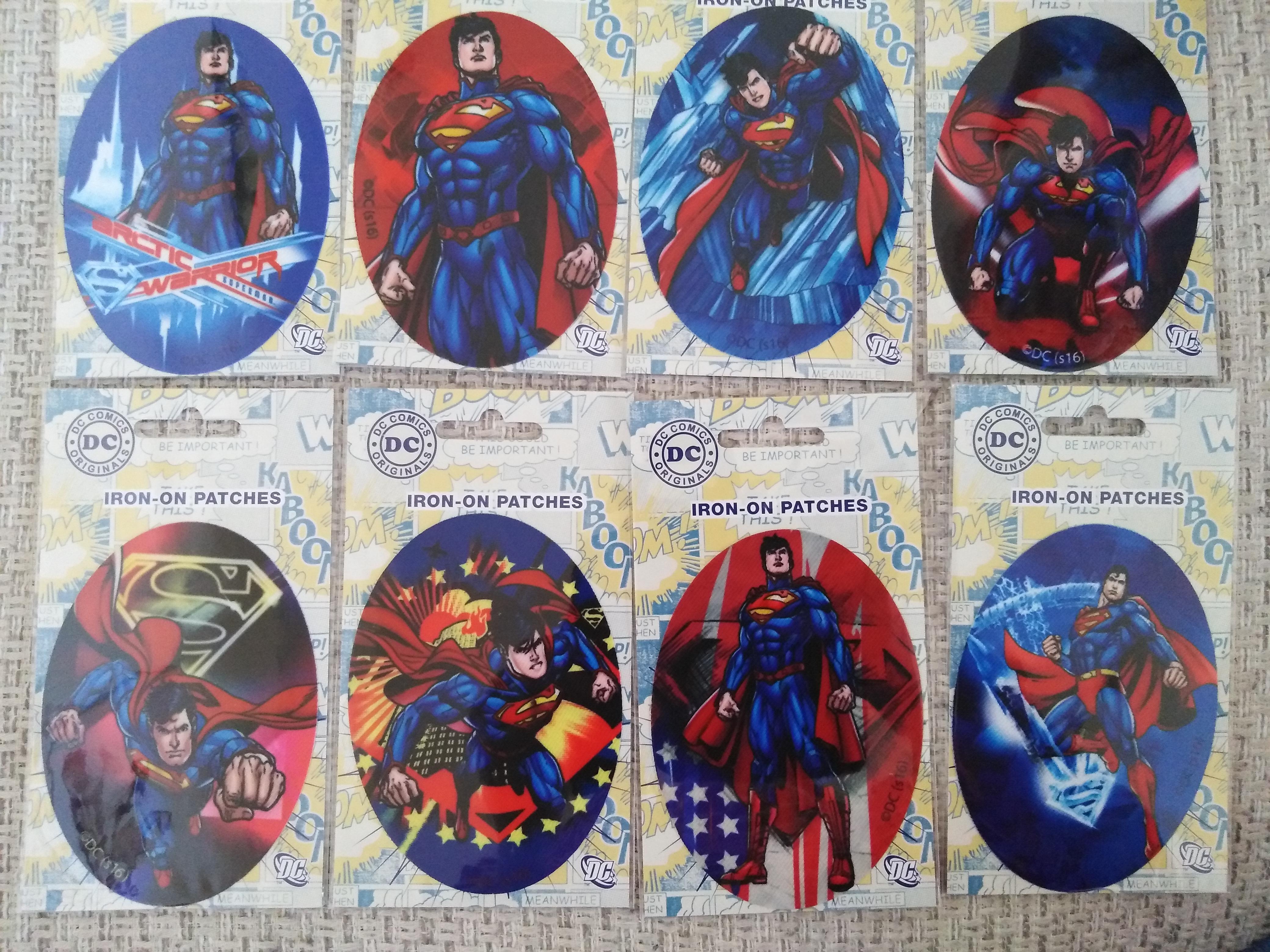 Záplaty nažehlovací Disney Superman