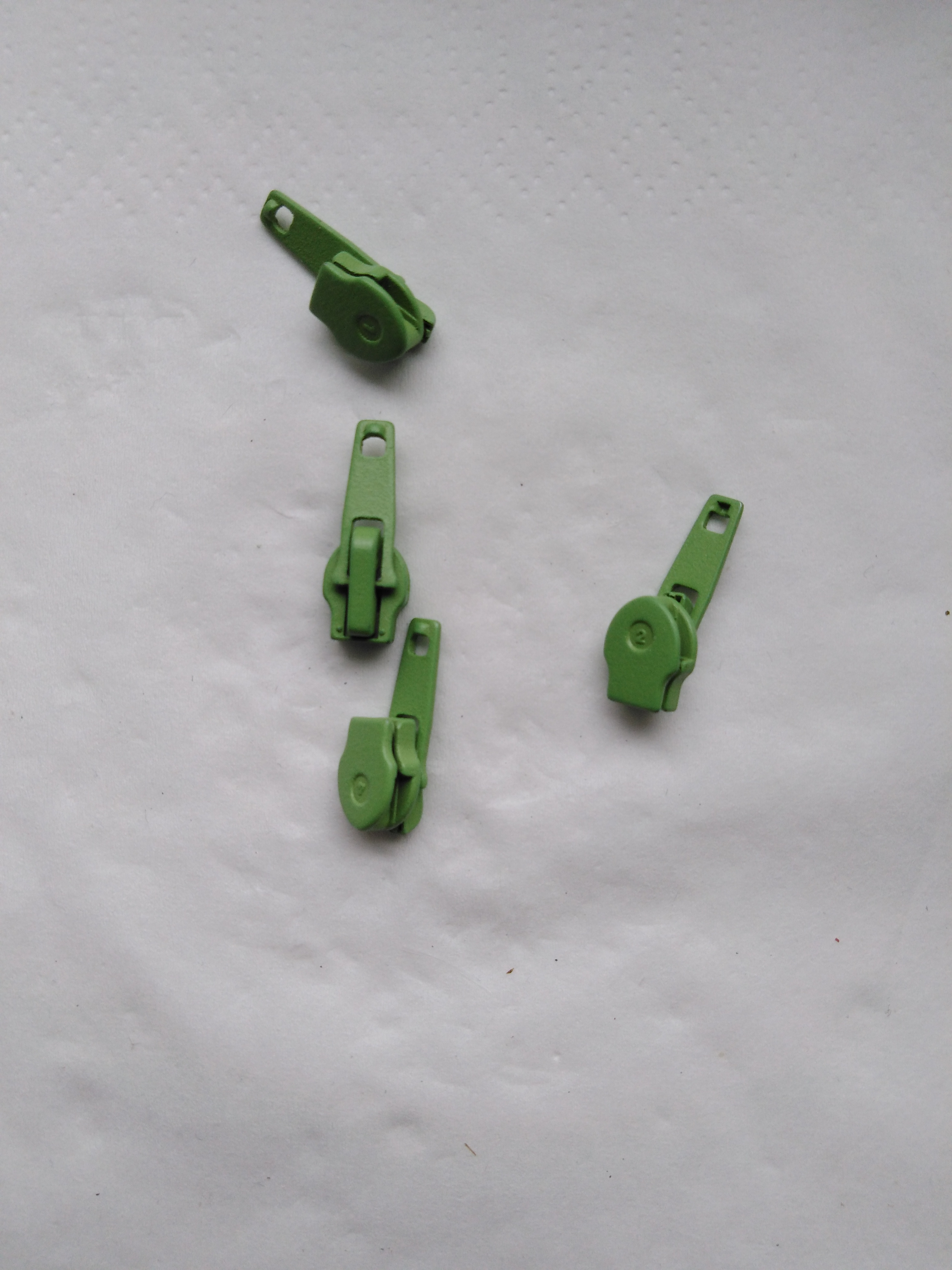 Jezdec k zipům WS0 aretační lakovaný jablečná zeleň